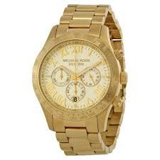michael kors watches jomashop michael kors layton chronograph champagne dial men s watch