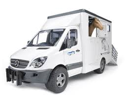 Фургон <b>Bruder с лошадью</b> Mercedes-Benz Sprinter (02-533) 1:16 ...