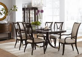 Thomasville Dining Room Chairs Thomasvillear Studio 455 Nine Piece Double Pedestal Table Dining