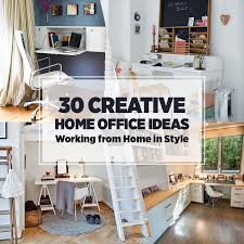 creative home office ideas built in home office furniture