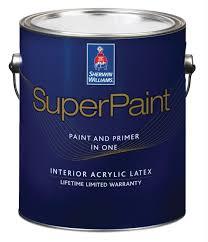 Интерьерная латексная <b>краска SuperPaint</b> (<b>Sherwin</b>-<b>Williams</b>)