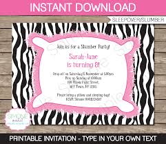 ticket clipart slumber party invitation printable party gallery