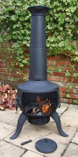 black backyard patio deck cast iron chiminea cast iron bronze chiminea with bbq grill in black for patio heater ide
