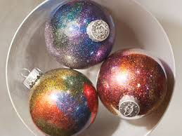 cheap christmas decor: get a galaxy ornament  diy christmas galaxy ornament sl
