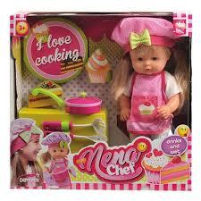 <b>Кукла DIMIAN</b> BABY <b>NENA шеф</b>-<b>повар</b>, 36 см — купить в ...