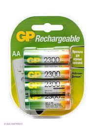 <b>Аккумулятор</b> NiMH <b>230AAHC</b> 2300mAh <b>AA GP</b> 2289970 в ...