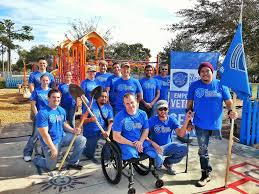 the citizen ier moral risk and the modern military members of the service platoon of the mission continues a nonprofit organization that helps war veterans readjust to life at home assemble after an event