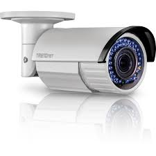 Indoor / Outdoor <b>2</b> MP 1080p <b>Varifocal</b> PoE IR Network Camera ...