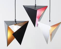 stealth pendant light is an amazing pendant lamps that made from a single plane of smooth perspex and folded into an origami like pyramid amazing pendant lighting