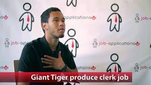 giant tiger produce clerk job giant tiger produce clerk job