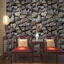 <b>wellyu</b> papel de parede thickening imitation rock wallpaper stone ...
