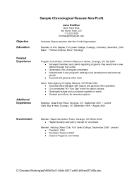 Examples Of Resumes Resume Good For With Best Samples 89 Amazing