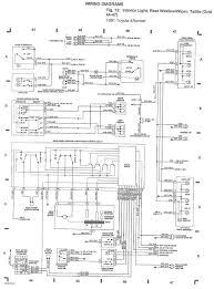 toyota runner trailer wiring diagram solidfonts 2005 toyota tacoma trailer wiring harness diagram ewiring