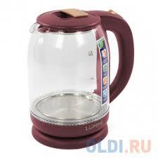Чайник <b>Lumme LU-142 красный рубин</b> — купить по лучшей цене ...