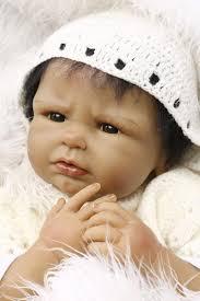<b>2017 New</b> 22 Inch Boy African American Baby Doll Black Realistic ...