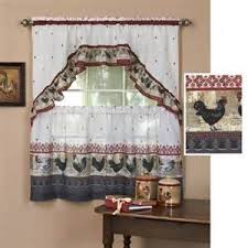 country kitchen window treatments country rooster kitchen curtains country rooster kitchen curtains  cou