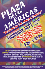 plaza de las americas to kick off hispanic heritage month to kick off this year s hispanic heritage month the 11th annual plaza de las americas will take place from 4 30 6 30 p m thursday sept