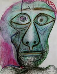 pablo picasso twisty turny lanes 1969 picasso self portrait 1972