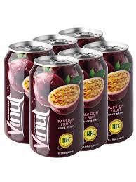 Тропический напиток <b>Сок Маракуйи</b>, 330 мл, 6шт. Vinut 8290008 ...