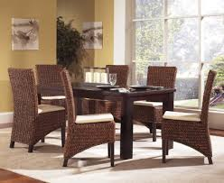 Dining Room Chair Designs Comfortable Wicker Dining Chair To Have A Delightful Dinner