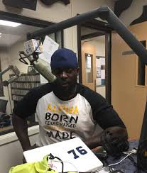 lions osei leader on o line and in communications 88 9 ketr jason osei prepares for his evening on air shift at ketr