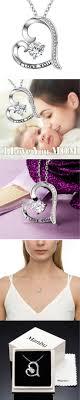 <b>MANBU 925</b> Real Sterling Silver Charm Women's Love Heart ...