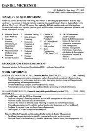 financial analyst resume entry  seangarrette cofinancial analyst resume offres demploi financial analyst resume entry level