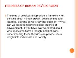 theories of human development  theories of human development