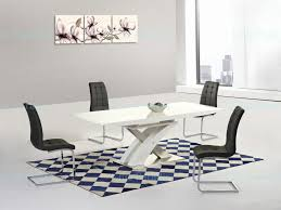 Oval Extension Dining Room Tables Oval Harmony High Gloss Extending Dining Table P White Athens Oval