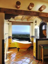 new mexico home decor:  original classic new mexico homes spanish style bathtub sxjpgrendhgtvcom