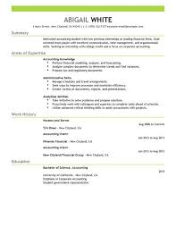 training internship resume example sample resume for an internship