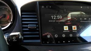 <b>Магнитола для Mitsubishi</b> Lancer X на базе Android 7.1 (Asottu ...