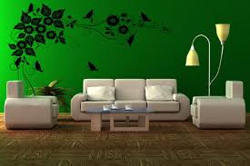 living black green living room home