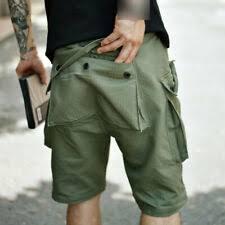 Грузовой Повседневные <b>шорты</b> для мужчин с винтажными ...