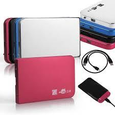 Aluminium <b>2.5inch USB3.0</b> SATA HDD Hard Drive Disk External Case