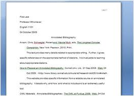 Best Photos of MLA Format Annotated Bibliography Maker   Annotated     Sample Text Citation MLA Template