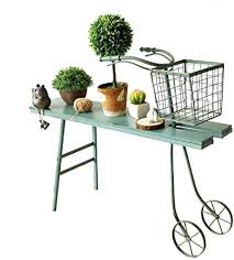 AI XIN American Country <b>Wrought Iron</b> Flower Stand, <b>Vintage Old</b> ...