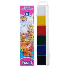 <b>Акварель Fancy</b> «Мишки», <b>6</b> цветов, в картонной коробке, без кисти