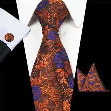 2019 <b>Mantieqingway 7cm</b> Men Neck <b>Tie</b> Silk Floral Jacquard Woven ...