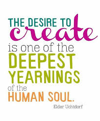 The Desire To Create | Quote Picture via Relatably.com