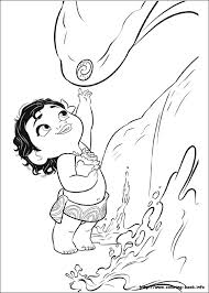 Small Picture Moana Coloring Pages On Coloring Book Info Coloring Coloring Pages