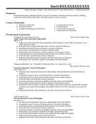 insurance agent resume example insurance company job descriptions    insurance agent resume example insurance company job descriptions