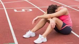 Risultati immagini per atleta bloccato