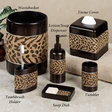 unique bathroom accessories photo design  zebra print bathroom sets  design