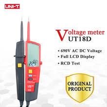 <b>UNI</b>-<b>T</b> UT18D цифровой вольтметр постоянного и переменного ...