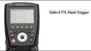 <b>Передатчик Phottix Odin II</b> TTL для вспышки Nikon | Phottix ...