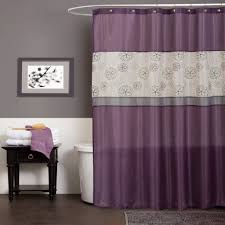 home decoration purple curtains