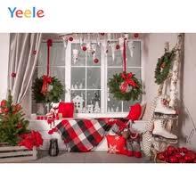 <b>Yeele Christmas Background</b> Photophone Wood House <b>Winter</b> ...