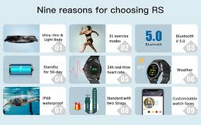 <b>TICWRIS RS Smart Watch</b> Men 31 Sports Modes IP68 Waterproof ...