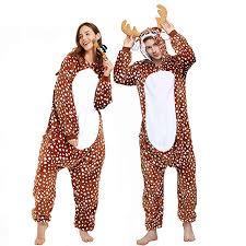 Onesie Adult Women Pajama Animal <b>Unicorn</b> Deer Bunny <b>Dinosaur</b> ...